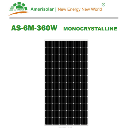 Panel monokrystaliczny Amerisolar AS-6M-360